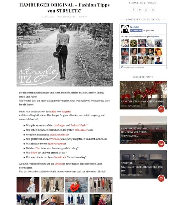 Spottster Blogeintrag