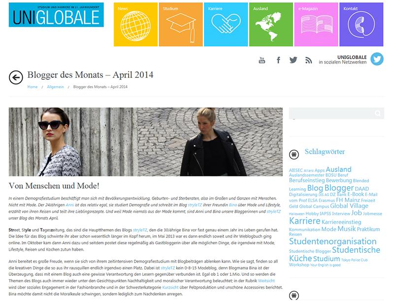 Uniglobale Presse