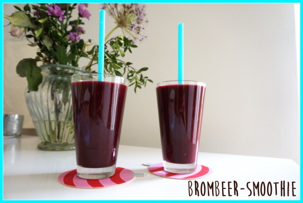 Brombeer-Smoothie